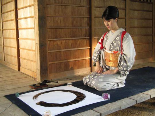 enso 1 - Enso cercle japonais : invitation à la méditation