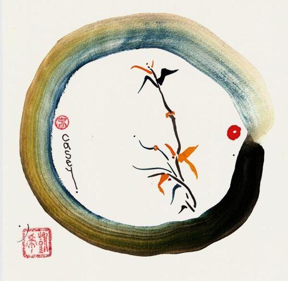 enso3 - Enso cercle japonais : invitation à la méditation