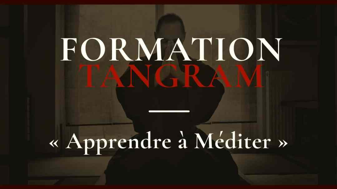 Affiche Apprendre à méditer - Formation