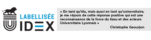 [CP] L'Université de Lyon reconnue Initiative d'Excellence
