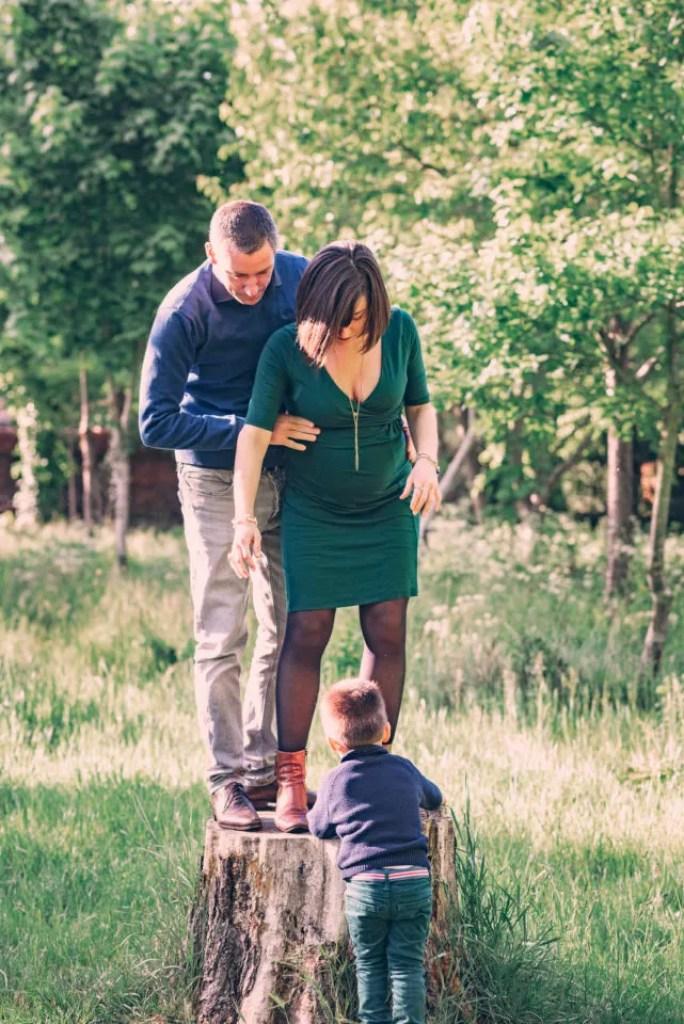 Shooting grossesse famille Yvelines Maisons-Laffitte Christophe Lefebvre Photographe