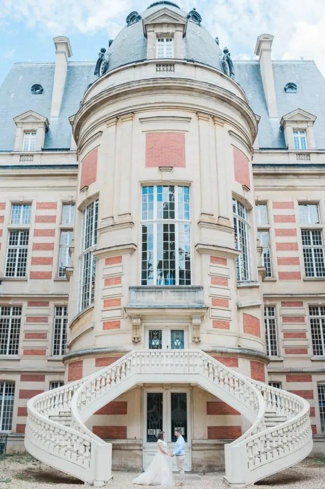 Christophe Lefebvre Photographe mariage Versailles Mairie le jardin Arriere