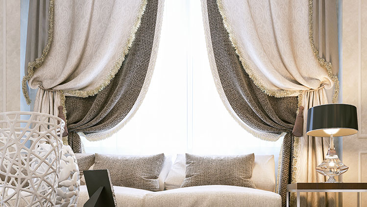 classic traditional curtains luxury