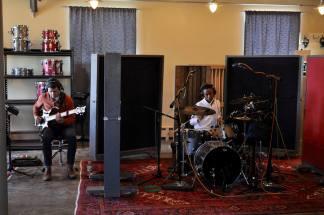 Recording alongside drummer Tyson Jackson