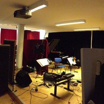 """We converted our recital room into a recording studio for 3 days to record our debut album """"You"""""""