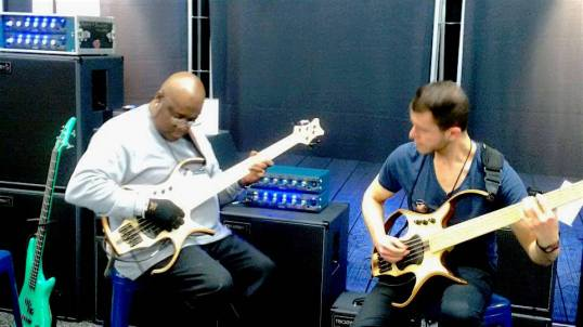 Playing at Trickfish Amps with Robert Harper