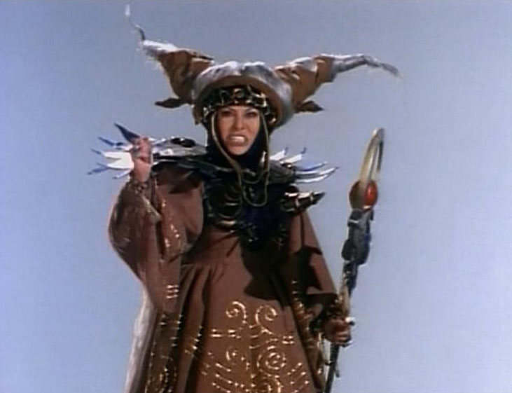Original Rita Repulsa played by Barbara Goodson