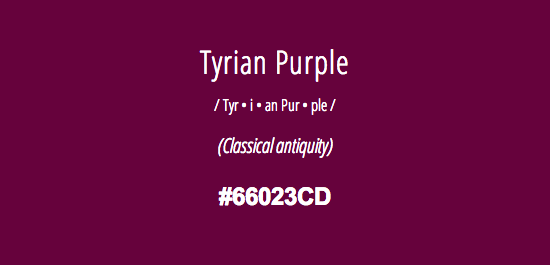 Image result for tyrian color