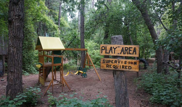 Playground in Christopher Creek