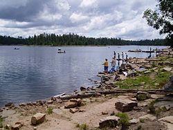 Willow Springs Lake near Christopher Creek