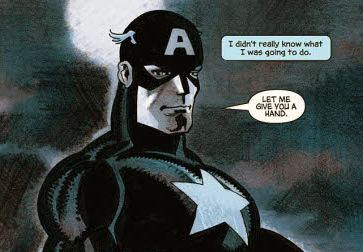 We can all learn from Cap's example.
