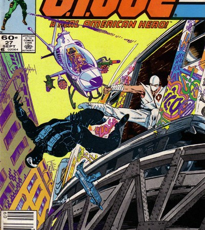 G.I. Joe #27 In Ten Panels Or Less