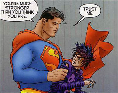 What Makes Superman So Super… In Ten Panels Or Less