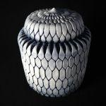 #32. Covered Jar, 8″ x 6″