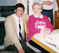 1996 with my grandmother