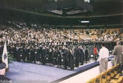 NESAD Suffolk University graduation 1996 Boston Garden