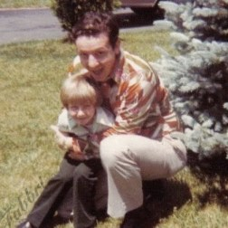 1978 with my dad