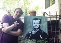 Bill Murray- portrait by Chris Fabbri