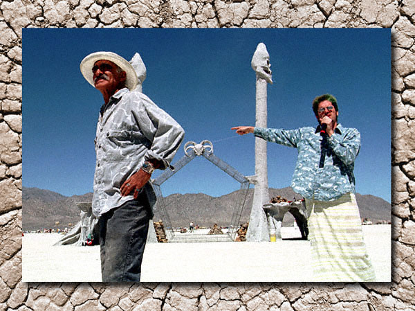 directing at Burning Man opera