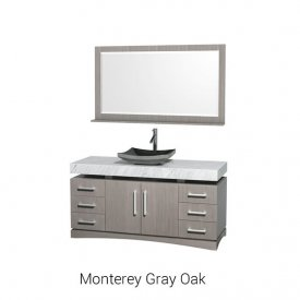 "Monterey Gray Oak | Available Sizes: 60"""