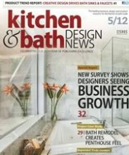 Kitchen & Bath Design News highlighted the Premiere for it's design and unique option of black granite sinks!