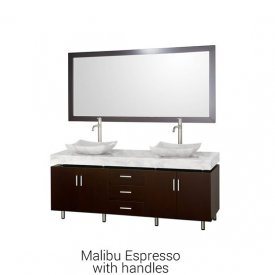 Malibu Espresso With Handles | Available Sizes: 72″