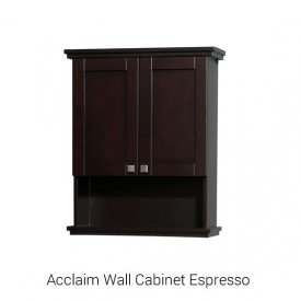 Acclaim Wall Cabinet Espresso