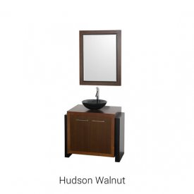Hudson Walnut | Available Sizes: 36″ (by Special Order Only).