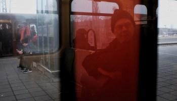 Berlin train seat