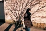 Krakow shadows from trees