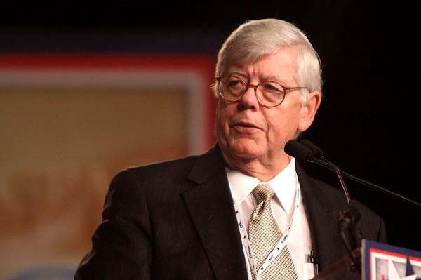 Photo of David Keene speaking at podium