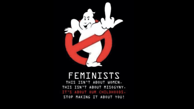 Meninist Ghostbusters