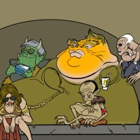 Jabba the Trump: A Comic and Coloring Page!