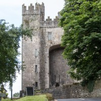 Bunratty Castle from the road