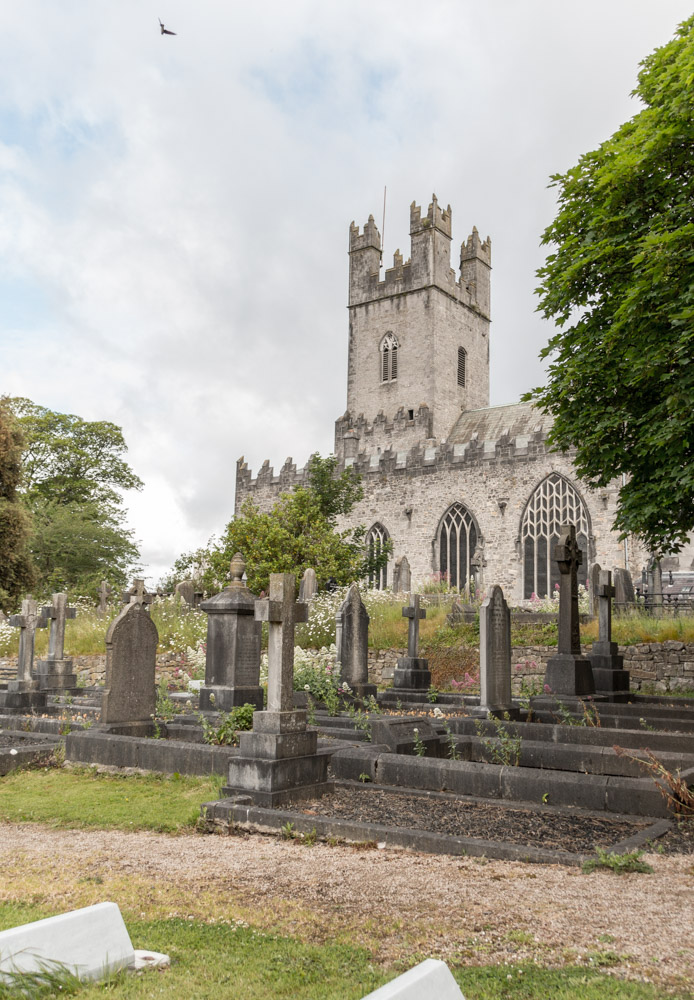 St. Mary's Cathedral and its cemetery, Limerick, Ireland