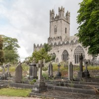 St. Mary's Cathedral and its cemetery, Limerick