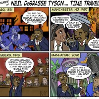 Neil DeGrasse Tyson: Time Traveler!