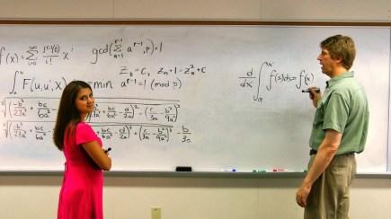 Chalkboard equations