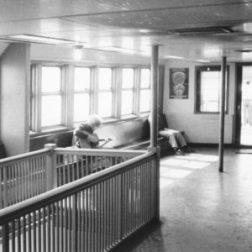 CK on ferry