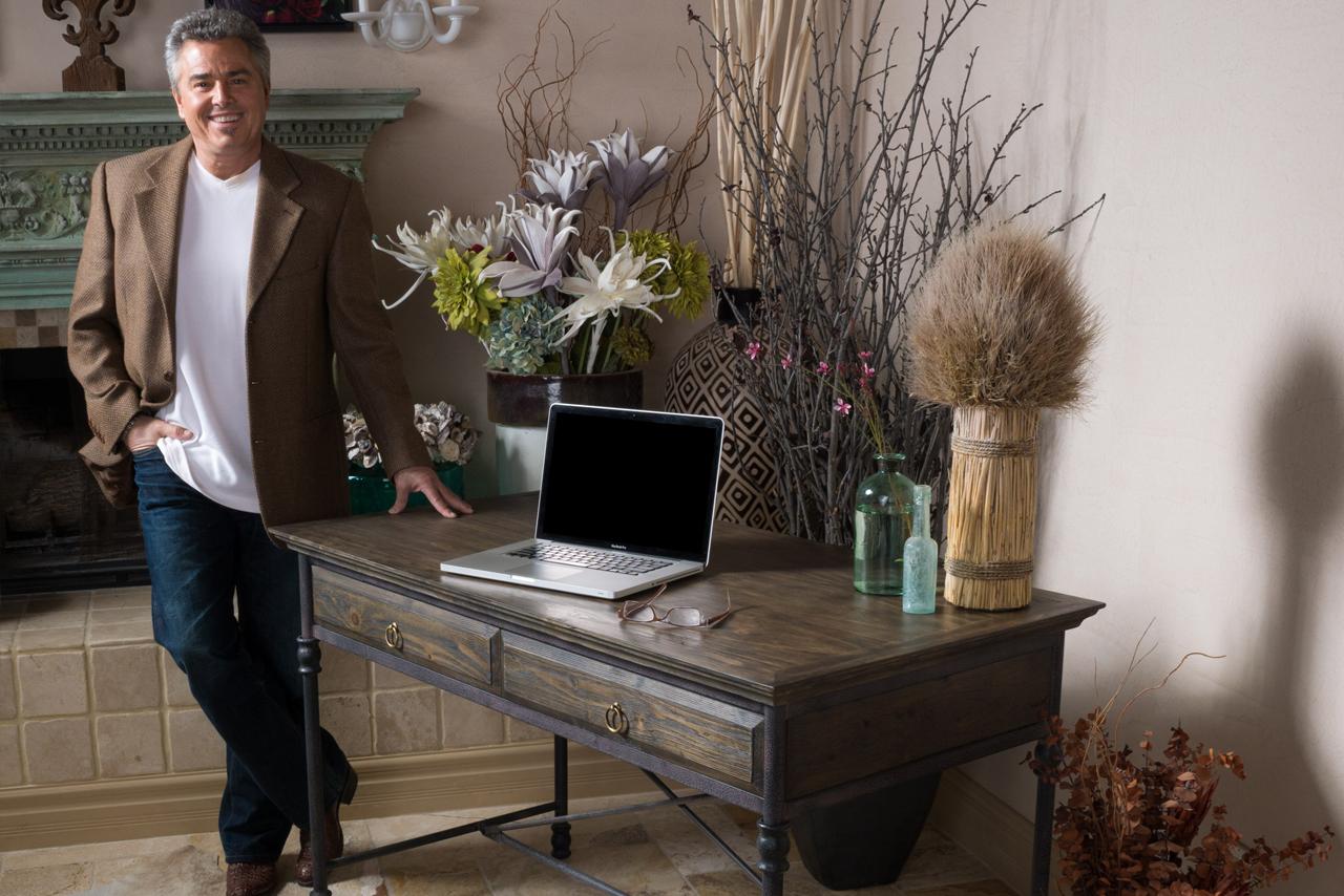 Christopher Knight Home Hylas Medium Brown Two Drawer Desk