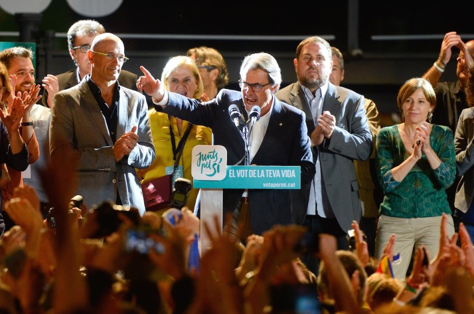 El análisis electoral en Catalunya.