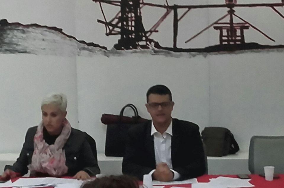 Dirigiendo las Jornadas de Dación de Cuentas de Concejales.