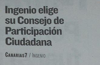 Ingenio trabaja en la puesta en marcha del Consejo Municipal de Participación Ciudadana.