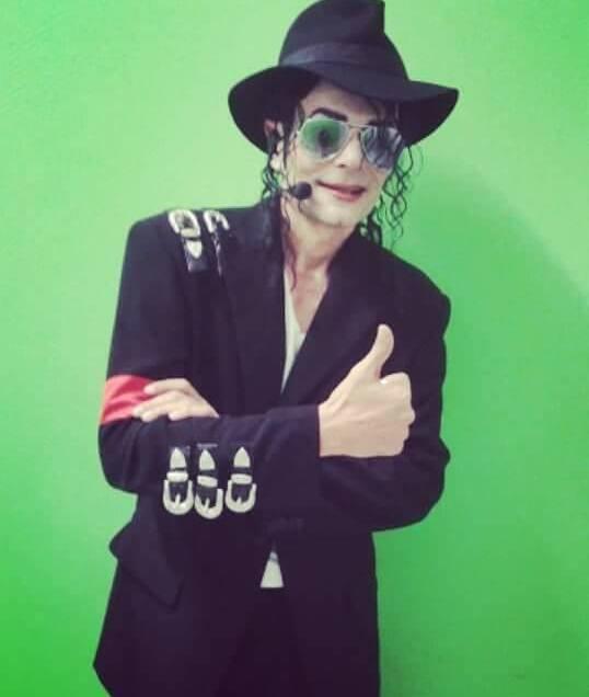 Gustavo Hernández, mejor imitador de Europa de Michael Jackson.