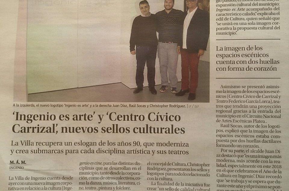 «Ingenio Es Arte» nuevo sello cultural de Ingenio.