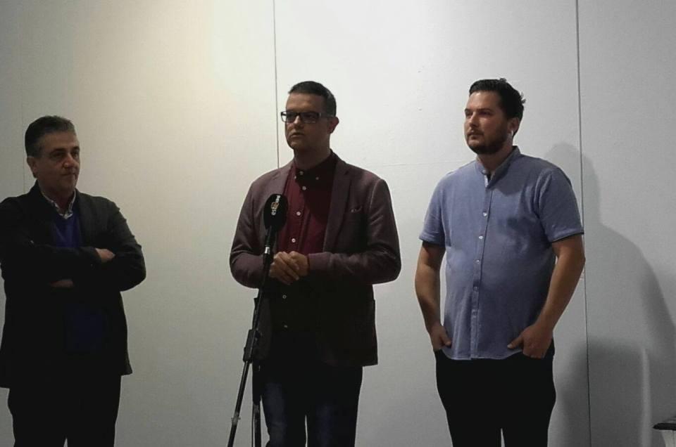Inauguración de la exposición «El Arte del Mensaje».