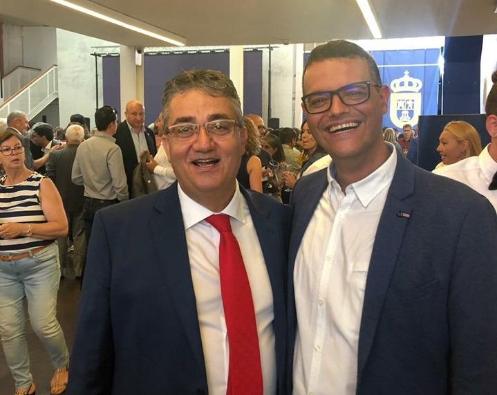 Orgulloso del nuevo Consejero del Cabildo de Gran Canaria.