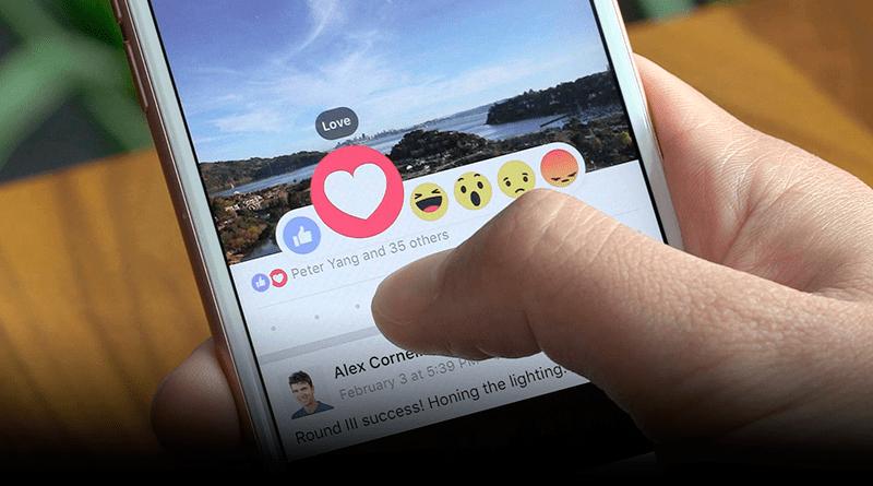 Facebook Reactions e a preguiça do usuário