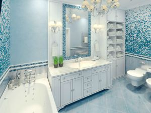 art deco bathroom vanities Denver