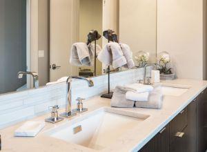 Denver bathroom cabinets and countertop